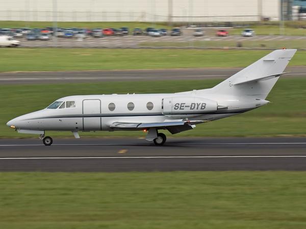 Anderson Business Jet AB     Dassault Falcon 100       SE-DYB