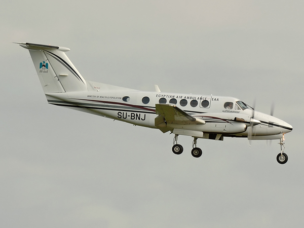 Alkan Air    Beech Super Kingair B200SE     SU-BNJ