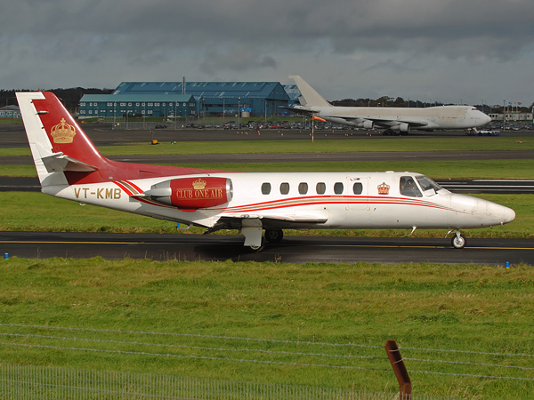 Grasim India Ltd     Cessna S550 Citation S/II    VT-KMB