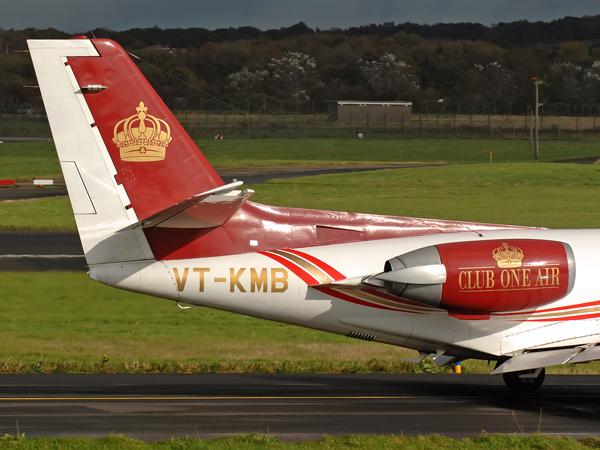Club One Air    Cessna S550 Citation    VT-KMB