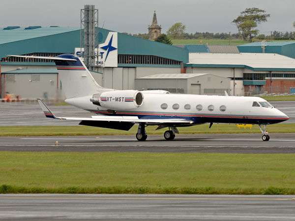 Asia Aviation     Gulfstream Aviation     Gulfstream IV       VT-MST