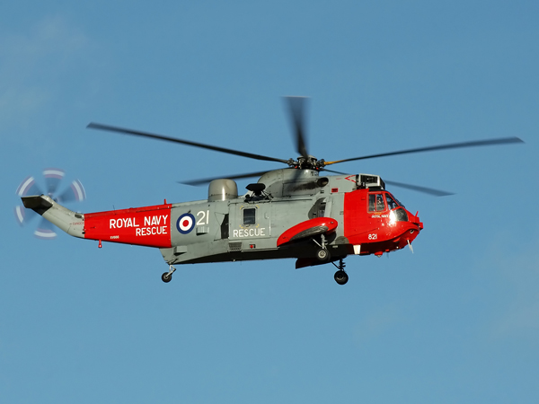 Royal Navy WS61 Sea King<br>