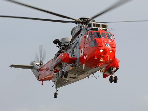 Royal Navy  WS61 Sea King HU5   XV699