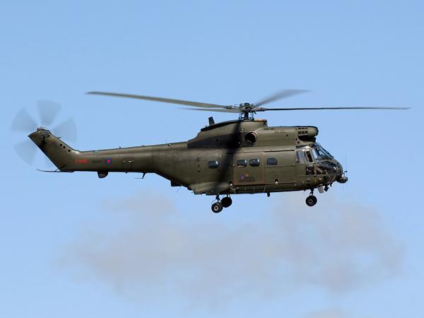 RAF   Aerospatialle SA.330E Puma MK.HC.1    XW208