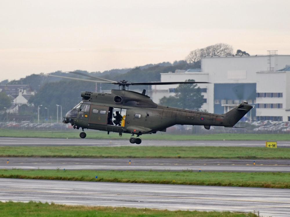 RAF   Westland Puma SA-330E  HC.1    XW236