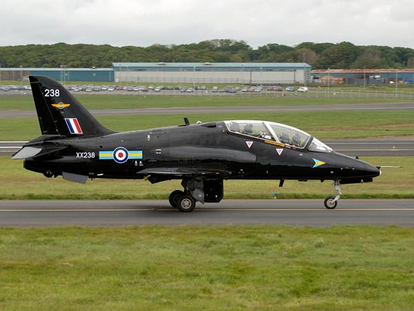 RAF  HS Hawk T1    XX238