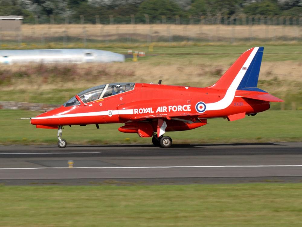 RAF  BAe Hawk T1W  XX311