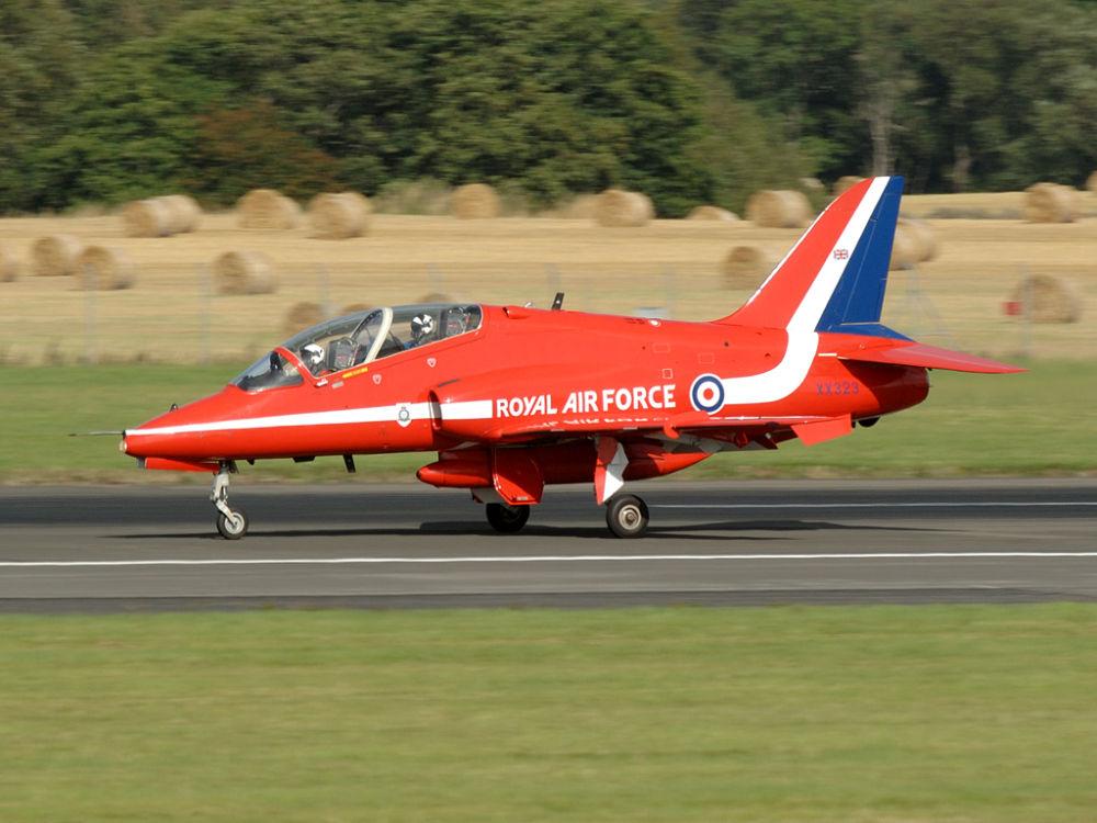 RAF  BAe Hawk T1A  XX323