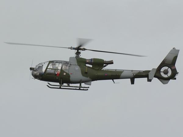 Army Air Corp    WS Gazelle AH1   XX456