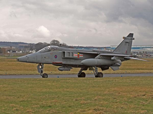 RAF  SEPECAT  Jaguar  GR3A  XX723