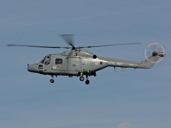 Royal Navy   Westland Lynx   HAS.3 GMS    XZ694