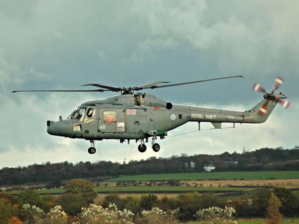 Royal Navy WS Lynx HAS3S (411/EB)  XZ733