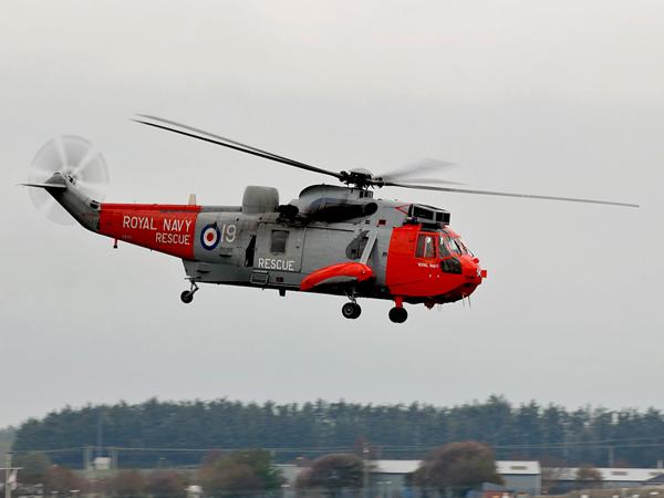Royal Navy  Westland Seaking  HU5   ZA130