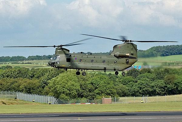 RAF Boeing Vertol Chinook HC2 ZA677