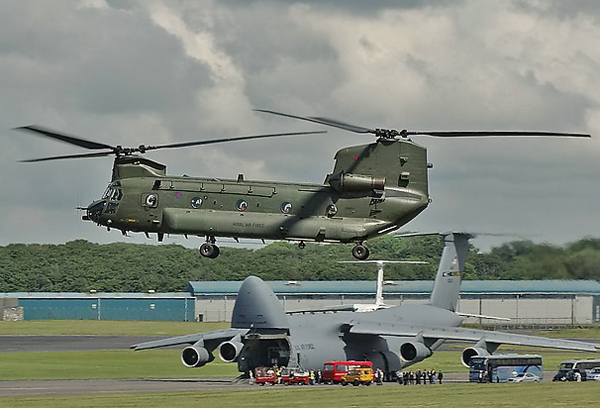 RAF Boeing Vertol Chinook HC2 ZA683