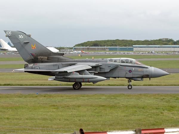 RAF   Panavia Tornado GR4   ZD843