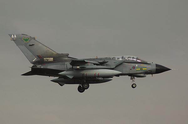 RAF Panavia Tornado GR4 (AA) ZD847