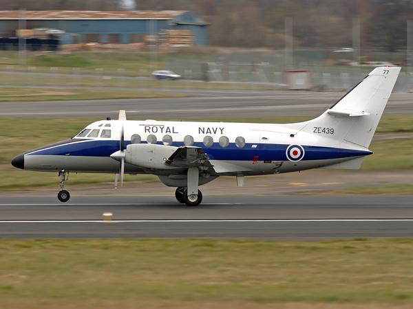 Royal Navy Bae Jetstream T3(77) ZE439