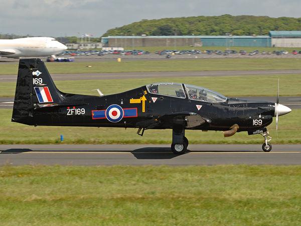 RAF    Shorts Tucano T.1    ZF169