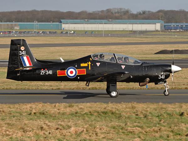 RAF     Shorts  Tucano T1        ZF341
