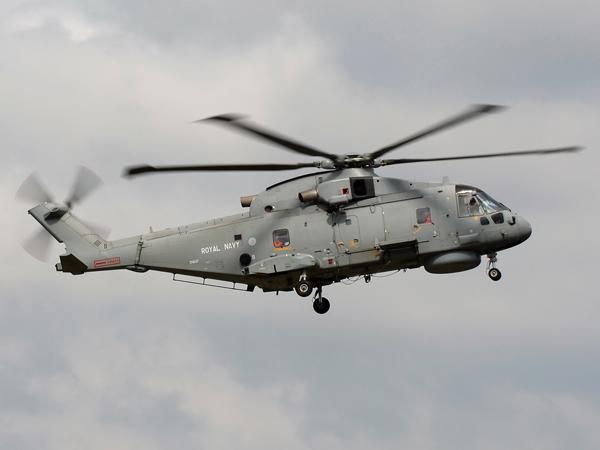 Royal Navy   EH-101 Merlin HM1    ZH837