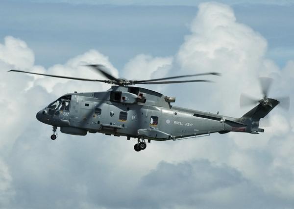 Royal Navy EHI-101 Merlin ZH846