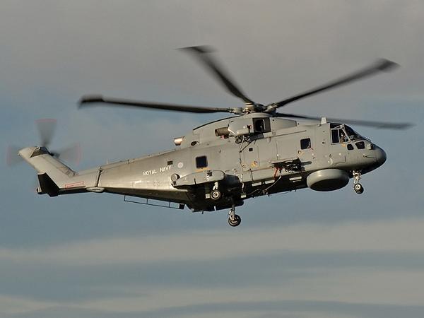 Royal Navy  EHI-101 Merlin HM1    ZH848