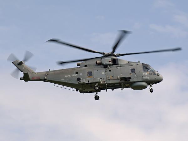 Royal Navy   EHI-101 Merlin HM1   ZH849