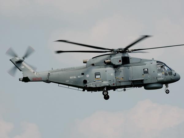 Royal Navy  EHI-101 Merlin HM1   ZH850