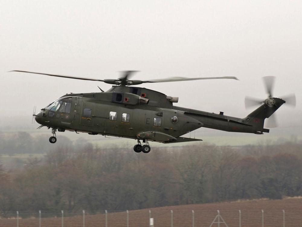 RAF  Westland Augusta   EC-101  Merlin  HC-3   ZJ121