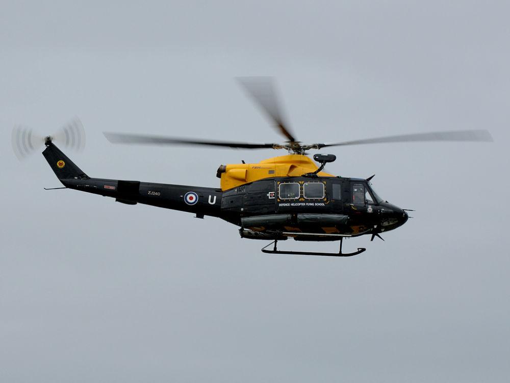 RAF  Bell Griffin   HT1   ZJ240