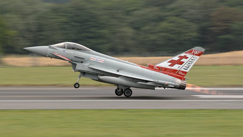 RAF  Eurofighter 2000 Typhoon FGR.4      ZK315