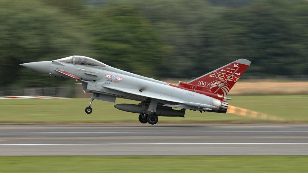 RAF  Eurofighter 2000 Typhoon FGR.4      ZK353