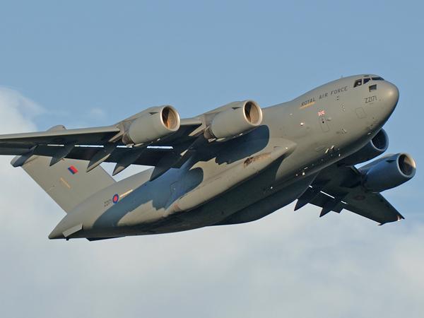 RAF Boeing C-17A Globemaster III   ZZ171