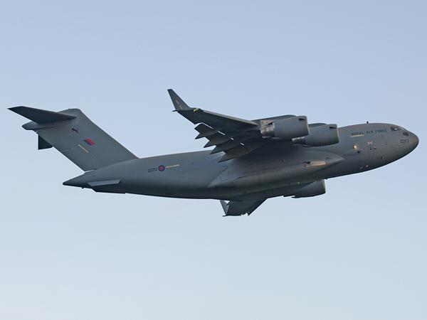 RAF Boeing C-17A Globemaster III   ZZ172