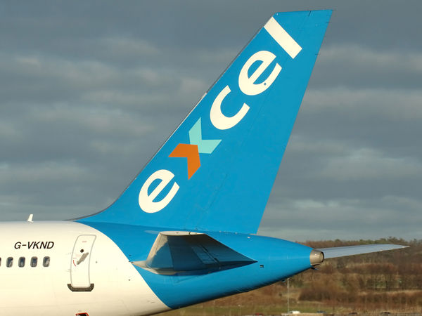 Excel Airways<br> Boeing 757-225