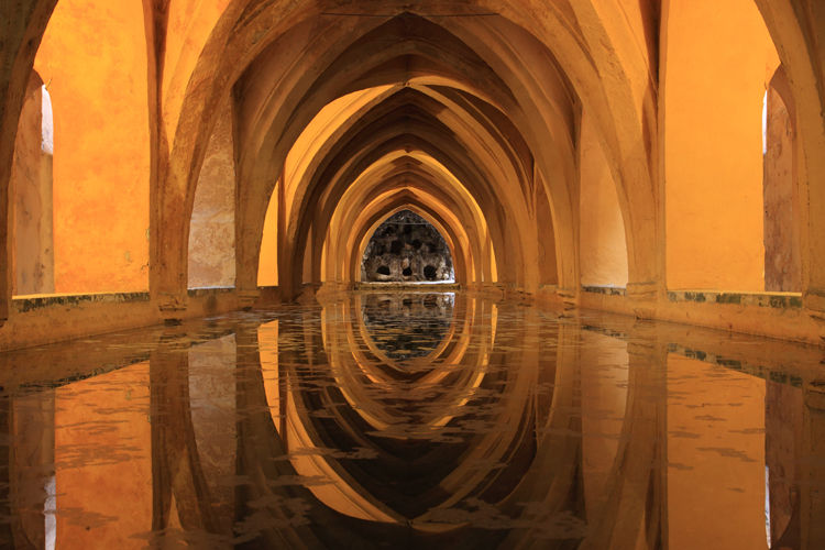 Baths at Real Alcazar