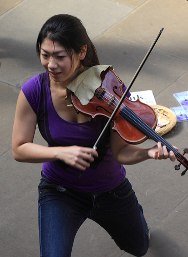 Classical Violinist