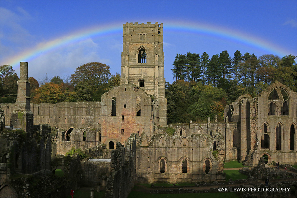 Rainbow over the Abbey