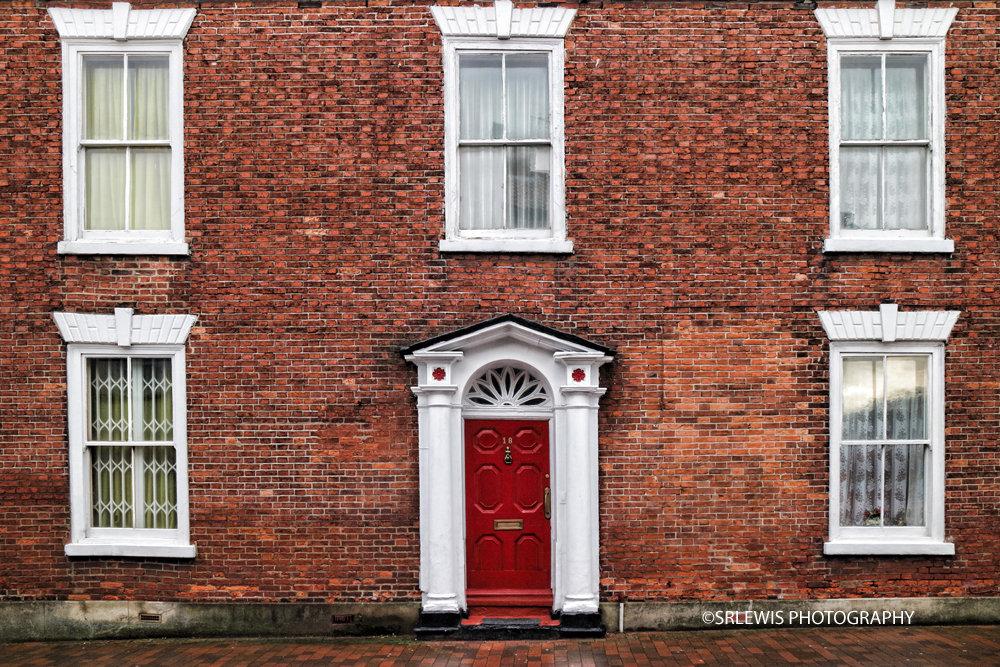 Red Door Red Brick