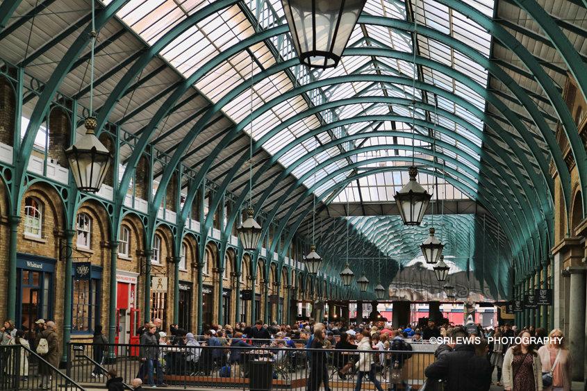 Bustling Covent Garden