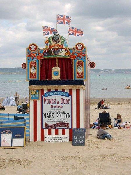 Punch and Judy, Weymouth