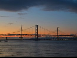 Forth Road Bridge Sunset