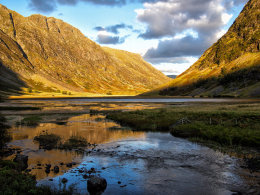 Early Evening in Glencoe