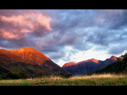 Glencoe Sunset