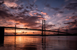 Sunset On The Forth