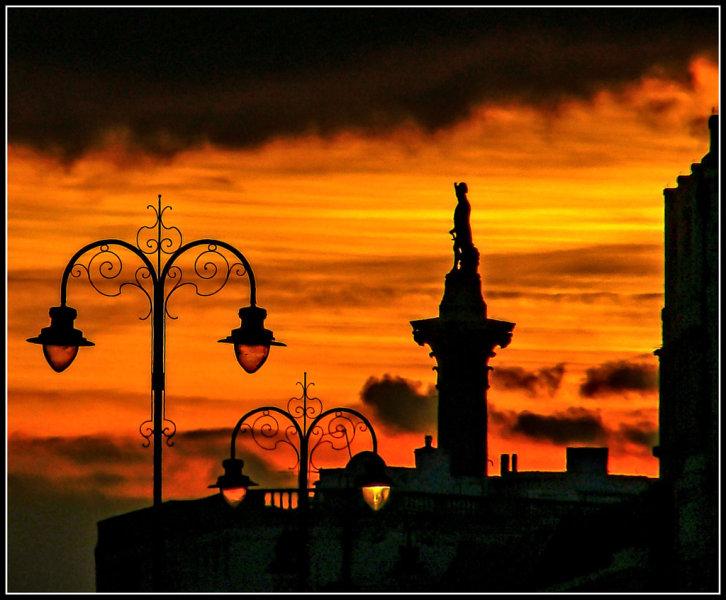 Trafalger Sunset