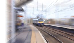 Train Rolling In