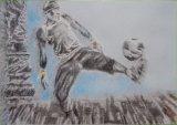 Footballer Iya Traore Paris