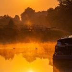 Sunrise Caen Hill Locks
